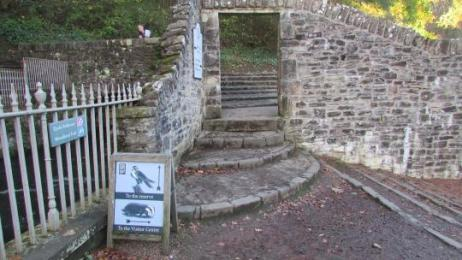 Entrance to the Falls of Clyde walk