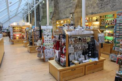 The interior of the Cathedral Shop