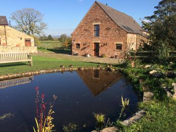 Home Barn pond
