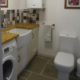 Utility room at Doodale Cottage