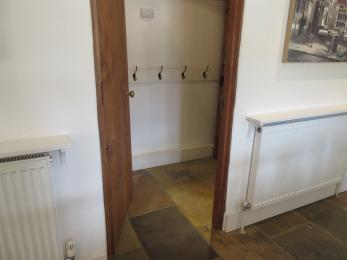Main door to downstairs Cloakroom