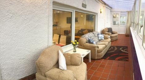 Conservatory area in Otterburn 2
