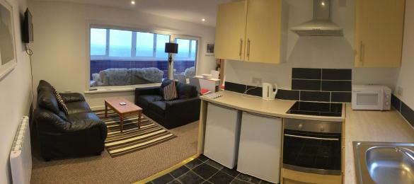 Open Plan living room, dining, kitchen