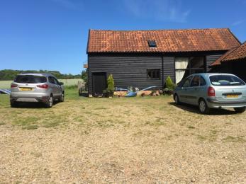 Parking at the Barn