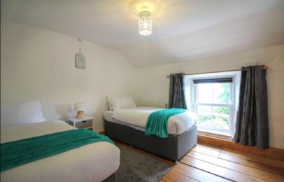 Hollowtree Cottage twin bedroom