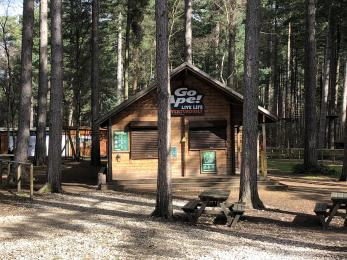 Go Ape booking cabin