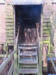 Fen Hide entrance