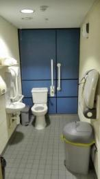 First floor accessible toilet