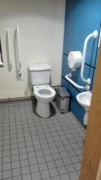 Library Accessible Toilet