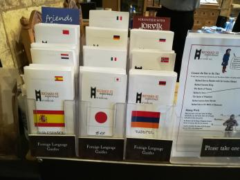 Foreign language guides.