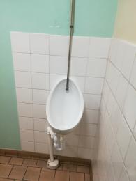 Men's urinal.
