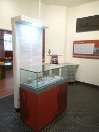 Part of the display in room 2 (two) of the galleries.