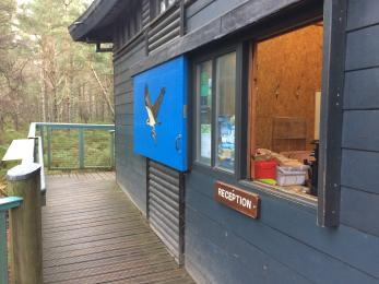 The Welcome Kiosk and decking
