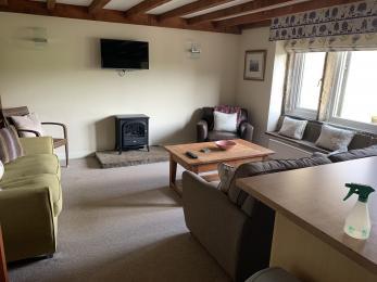 LFHC - Trough Cottage lounge, kitchen diner