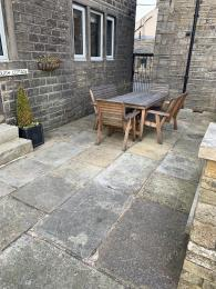 LFHC - Trough Cottage seating area