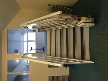 platform stairs & chairlift
