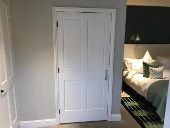 Room 47 Wetroom Door