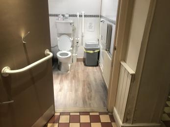 Toilet / Baby Change 1