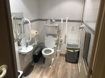 Toilet / Baby Change 2