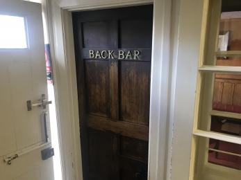 Back Bar Entrance