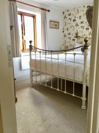 Floor space in master bedroom.