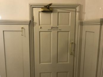Male Toilet Entrance