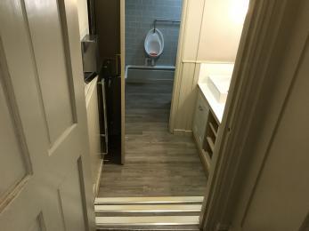 Male Toilet Steps