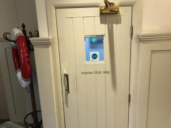 Door  To First Floor