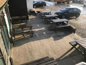 Outdoor Seating Front