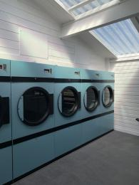 Front loading dryers