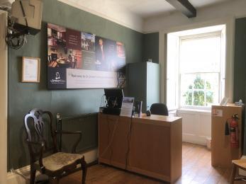 Visitor Reception desk