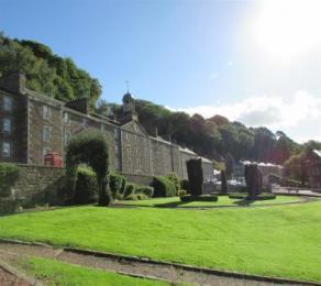 Robert Owen's Garden