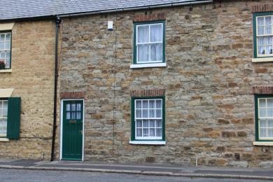 Fern Cottage entrance