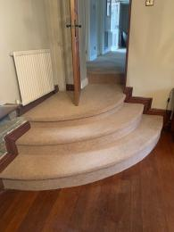 Steps from Main Lounge to Lower Lounge