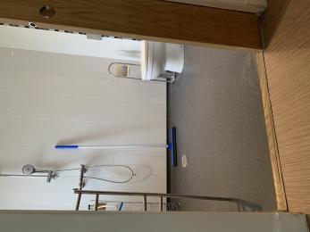Topaz studio ensuite wetroom.