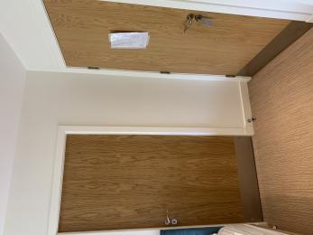 Aquamarine bedroom 4 connecting door.