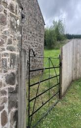 Gate to Back door from parking area.