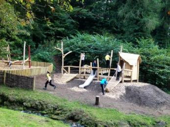 Play area at Clearburn