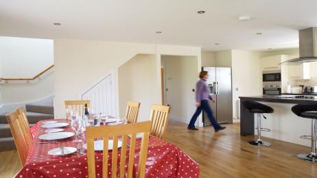 The Distillery dining-kitchen