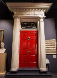 The 'Red House' door in the Painting the Town Red gallery.