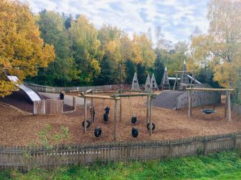 Junior play area at Moors Valley