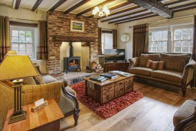 Inglenook Cottage, West Burton - lounge