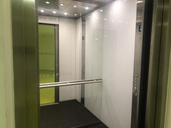 Inside the lift