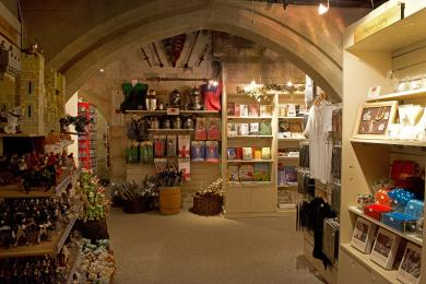 The Gift Shop - entering from the tour route
