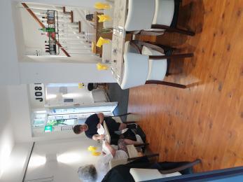 Joshua's cafe internal