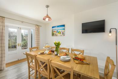 Dining Area at Eider Cottage