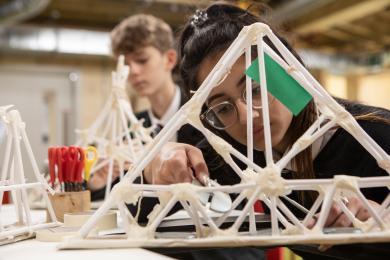 Schoolchildren in Making Studios