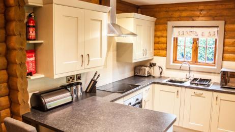 Woodland Lodge - Kitchen