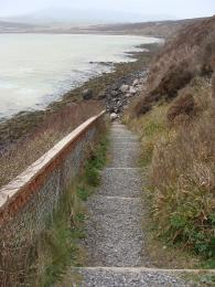 Lower end of Waulkmill Bay Trail South