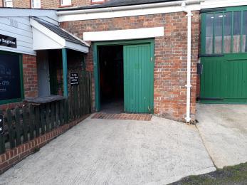 Boiler House Entrance